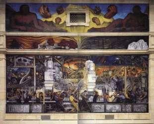 Detroit Industry, North Wall — Диего Ривера