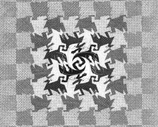 Development I — Мауриц Корнелис Эшер