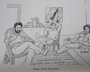 Diego, Modi, Ehrenburg — Маревна