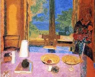 Dining Room on the Garden — Пьер Боннар