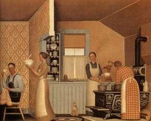 Dinner for Threshers — Грант Вуд