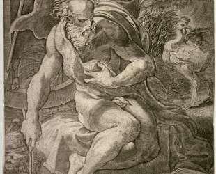 Diogenes — Пармиджанино