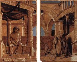 Diptych with Christ and the Mater Dolorosa — Ганс Гольбейн Младший