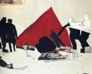 Сборка красной палатки — Рон Б. Китай