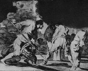 Disparate furioso — Франсиско де Гойя