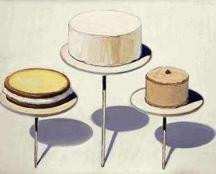 Display Cakes — Уэйн Тибо