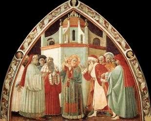 Диспут святого Стефана — Паоло Уччелло