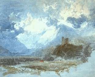 Dolbadern Castle — Уильям Тёрнер