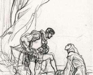 Don Juan. Study of illustration. — Карлос Саенс де Техада