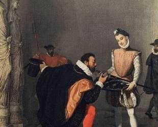 Дон Педро Толедо, целующий меч Генриха IV — Жан Огюст Доминик Энгр