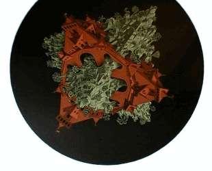Double Planetoid Colour — Мауриц Корнелис Эшер
