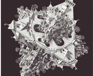 Double Planetoid — Мауриц Корнелис Эшер