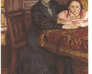 Double portrait of Matilda and Gertrude Schonberg — Рихард Герстль