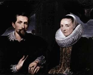 Двойной портрет художника Франса Снейдерса и его жены — Антонис ван Дейк