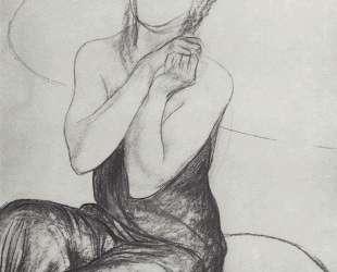 Рисунок к картине Колдуньи — Кузьма Петров-Водкин