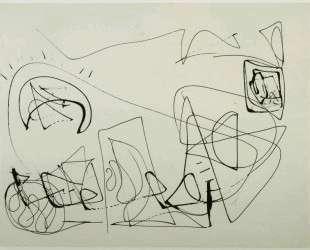 Drawing [D182] — Морис Луис