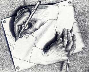 Drawing Hands — Мауриц Корнелис Эшер
