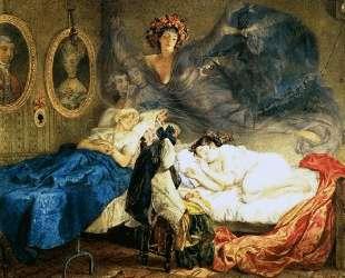 Сон бабушки и внучки — Карл Брюллов