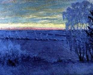 Дугино. Восход солнца — Игорь Грабарь