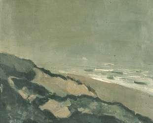 Dunes and sea — Тео ван Дусбург