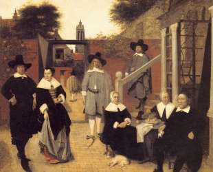 Dutch family — Питер де Хох