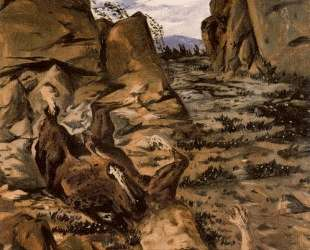 Умирающий кентавр — Джорджо де Кирико