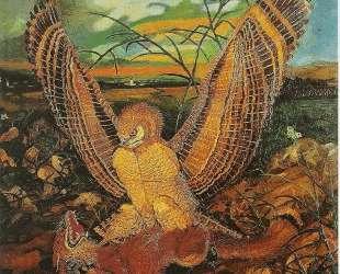 Eagles with fox — Антонио Лигабуэ
