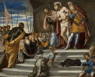 Ecce Homo(Pontius Pilate Presenting Christ to the Crowd) — Тинторетто
