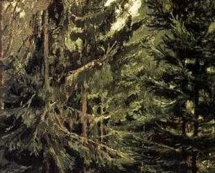 Edge of the spruce forest — Виктор Васнецов