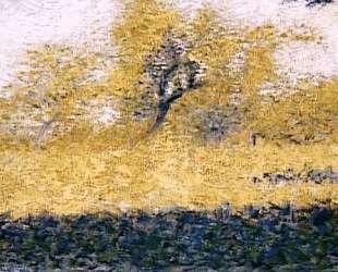 Опушка леса, весна — Жорж Сёра