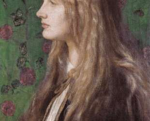 Edith Villiers, later Countess of Lytton — Джордж Фредерик Уоттс