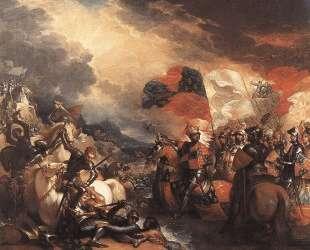 Edward III Crossing the Somme — Бенджамин Уэст