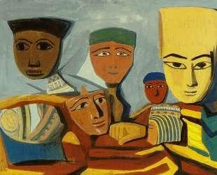 Egyptian masks — Мартирос Сарьян