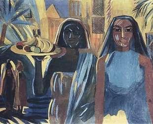 Egyptian women — Мартирос Сарьян