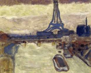 Eiffel Tower and The Seine — Пьер Боннар
