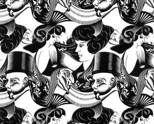 Eight Heads — Мауриц Корнелис Эшер
