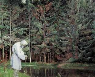 Старец (Раб Божий Авраамий) — Михаил Нестеров