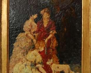 Elegant gathering — Адольф Жозеф Тома Монтичелли
