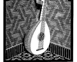 Emblemata — Lute — Мауриц Корнелис Эшер