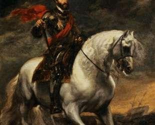 Император Карл V на коне — Антонис ван Дейк