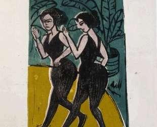 English Dancers — Эрнст Людвиг Кирхнер