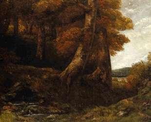Вход в лес — Гюстав Курбе
