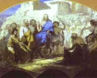 Entrance of Christ into Jerusalem — Генрих Семирадский