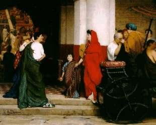Вход в римский театр — Лоуренс Альма-Тадема