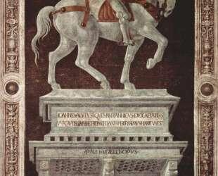 Конная статуя сэра Джона Хоквуда — Паоло Уччелло