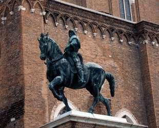 Equestrian statue of the condottiere Bartolomeo Colleoni — Андреа Верроккьо