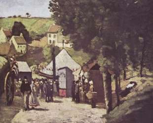 Eremitage, Pontoise — Поль Сезанн