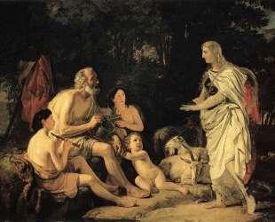 Эрминия у пастухов — Карл Брюллов