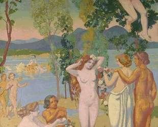 Panel 1. Eros is Struck by Psyche's Beauty — Морис Дени