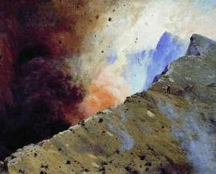Eruption of volcano — Николай Ярошенко